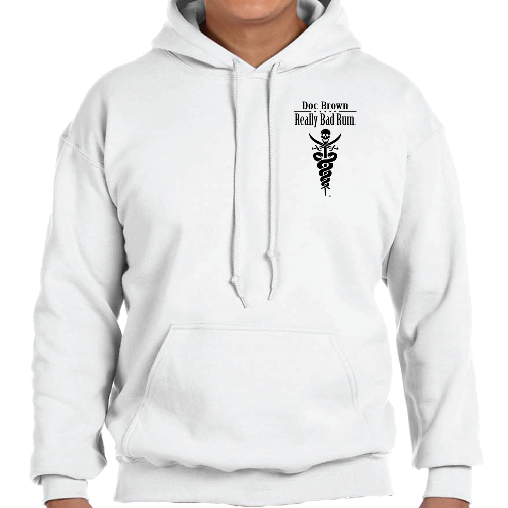White Hoodie Front