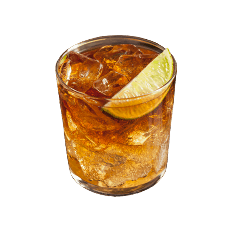 Doc's Dark Rum On The Rocks